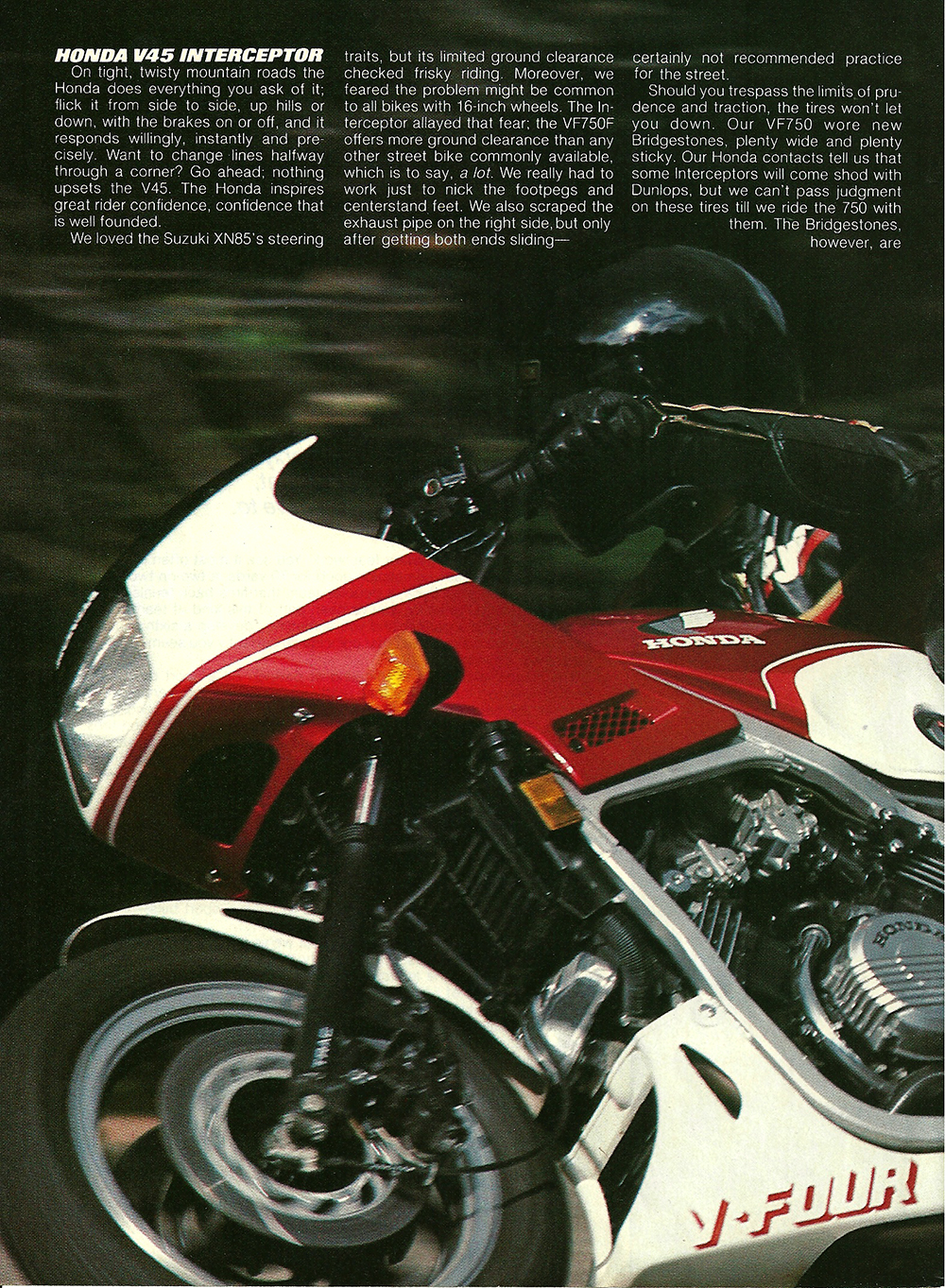 1983 Honda V45 Interceptor road test 03.jpg