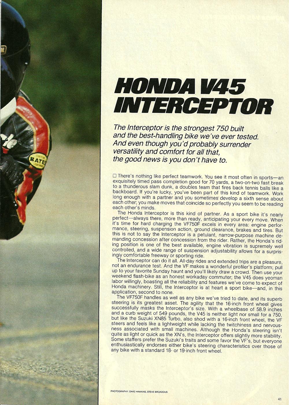 1983 Honda V45 Interceptor road test 02.jpg