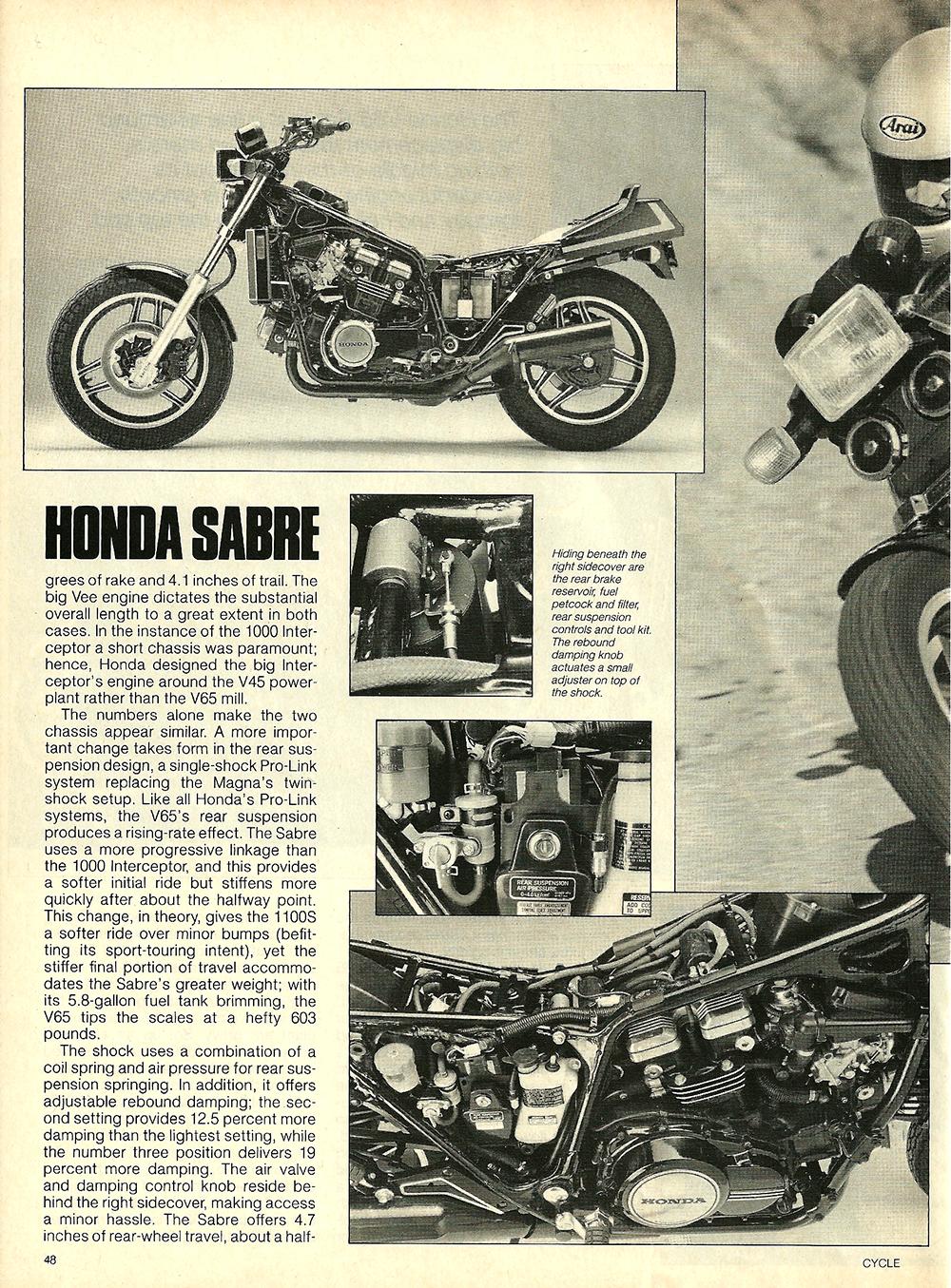 1984 Honda V65 Sabre road test 5.jpg
