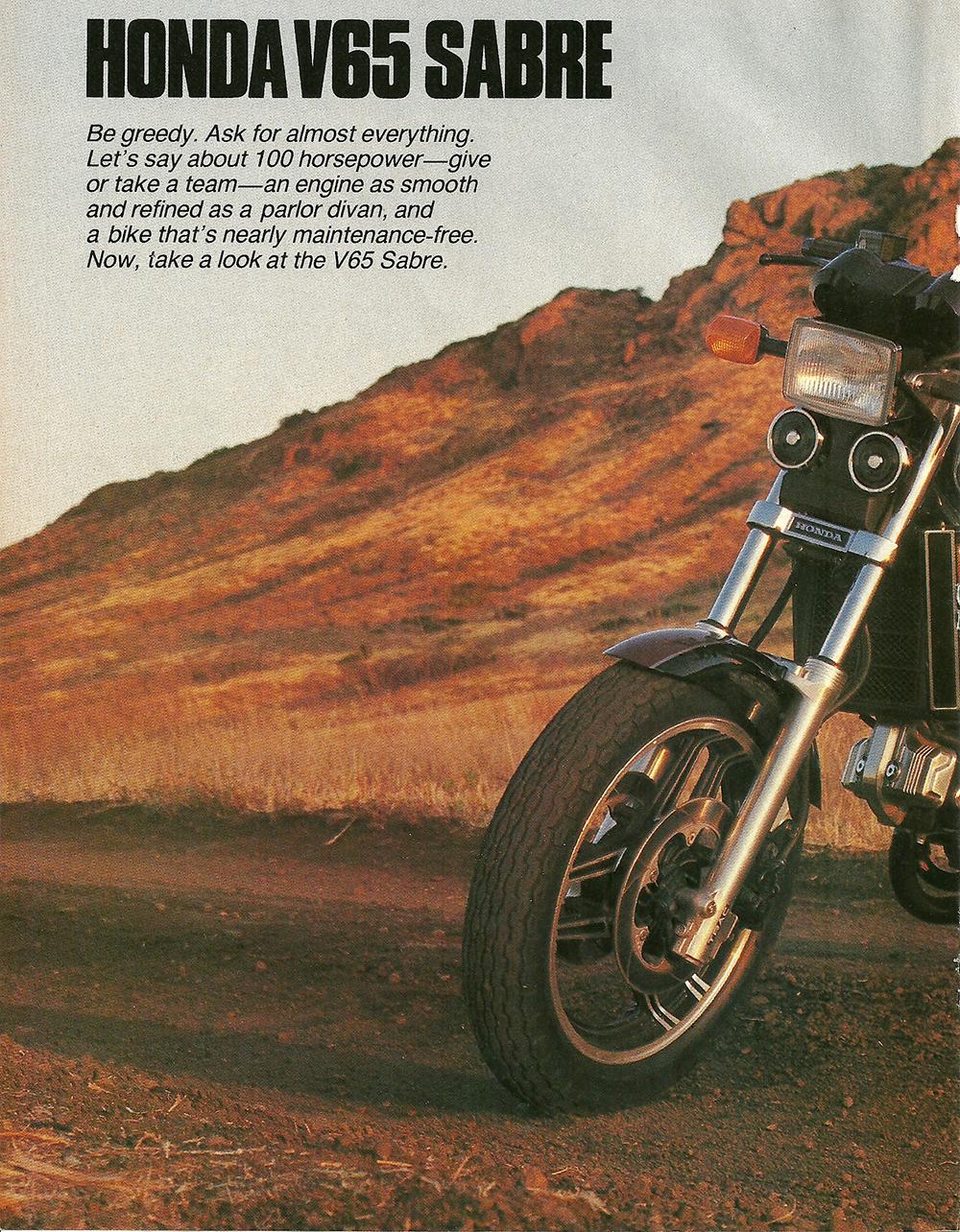 1984 Honda V65 Sabre road test 1.jpg