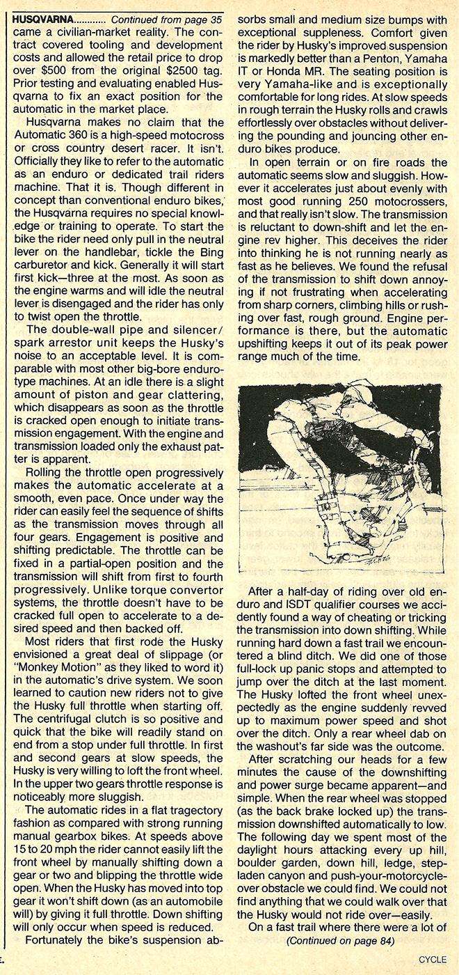 1977 Husqvarna Automatic 360 road test 7.jpg