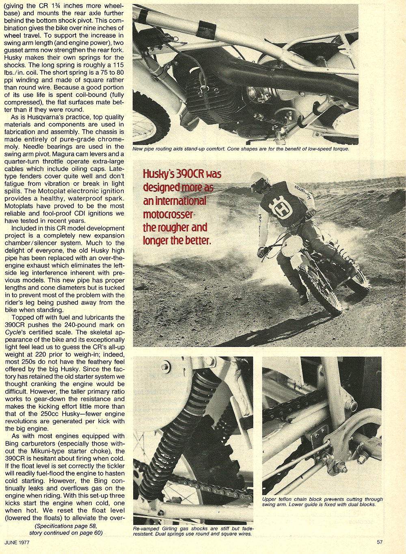 1977 Husqvarna 390 CR road test 4.jpg