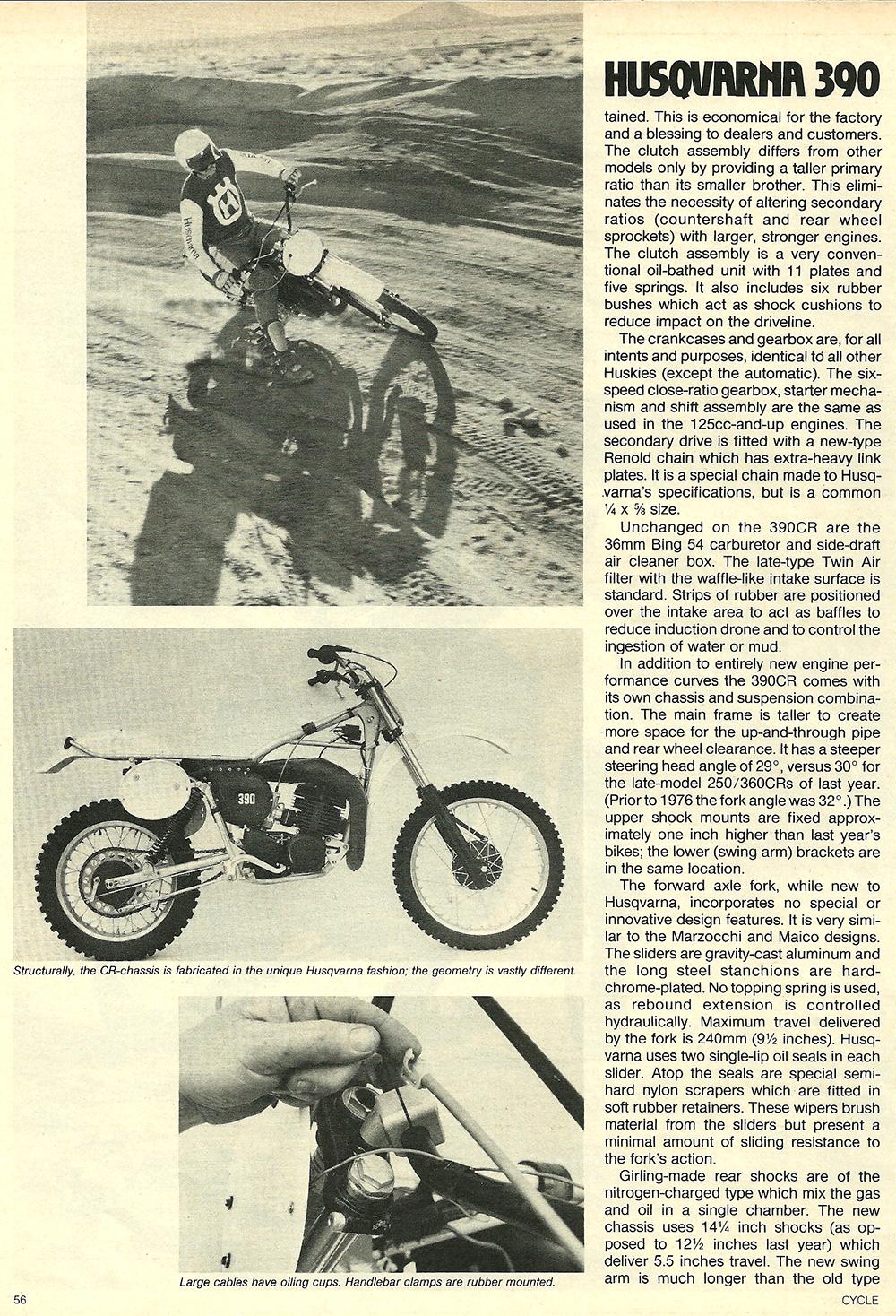 1977 Husqvarna 390 CR road test 3.jpg