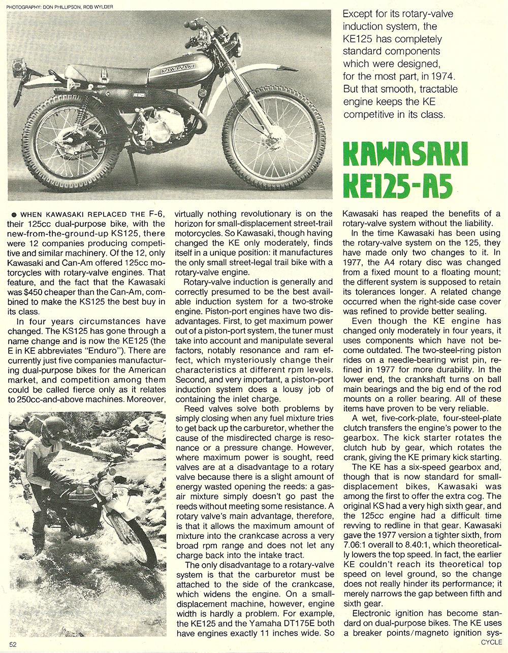 1978 Kawasaki KE125 A5 roat test 01.jpg