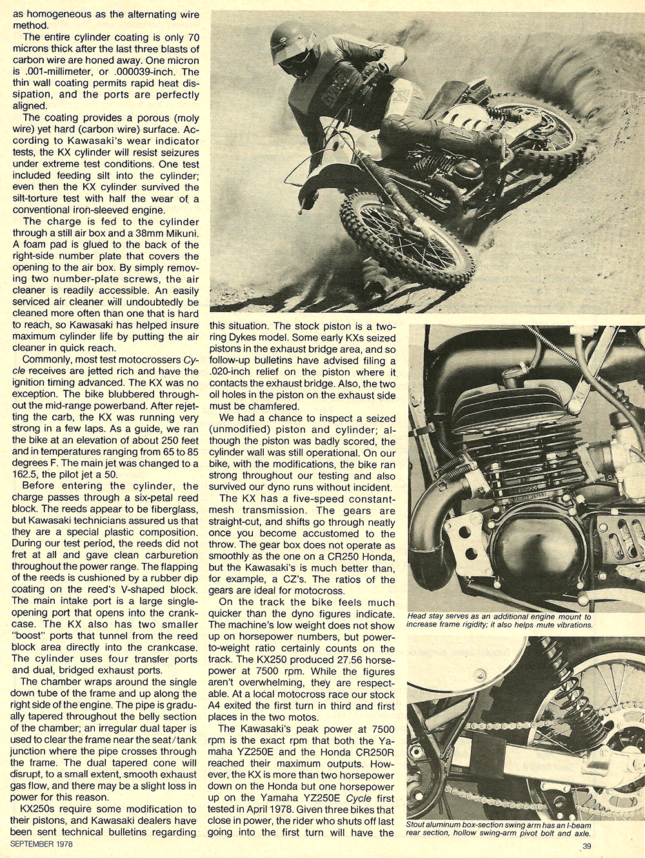 1978 Kawasaki KX250 A4 road test 04.jpg