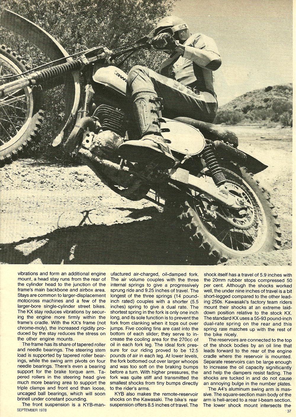 1978 Kawasaki KX250 A4 road test 02.jpg