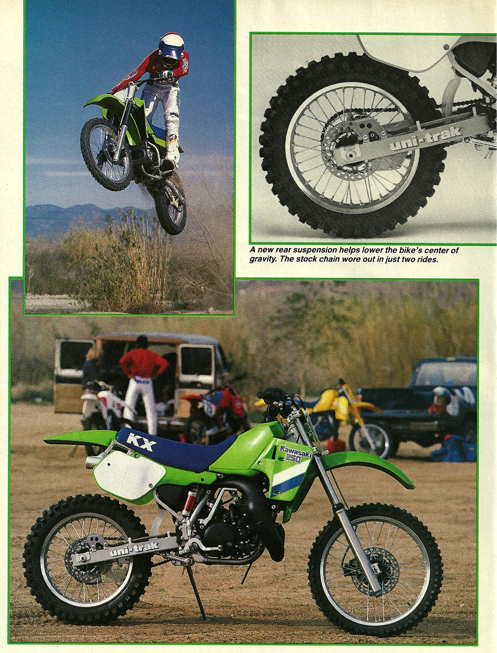 1987 Kawasaki KX250 road test 03.jpg