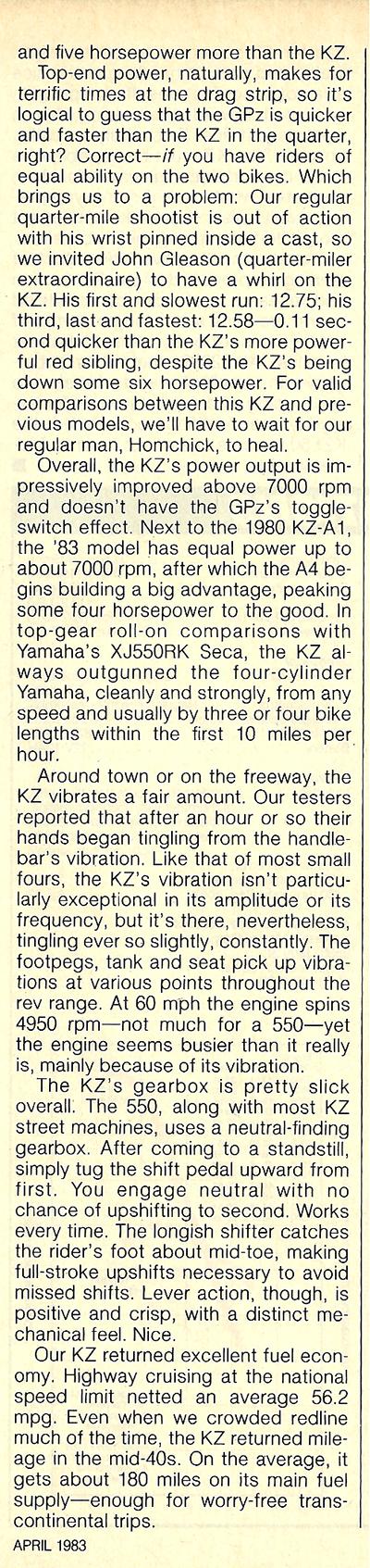 1983 Kawasaki KZ550 A4 road test 7.jpg