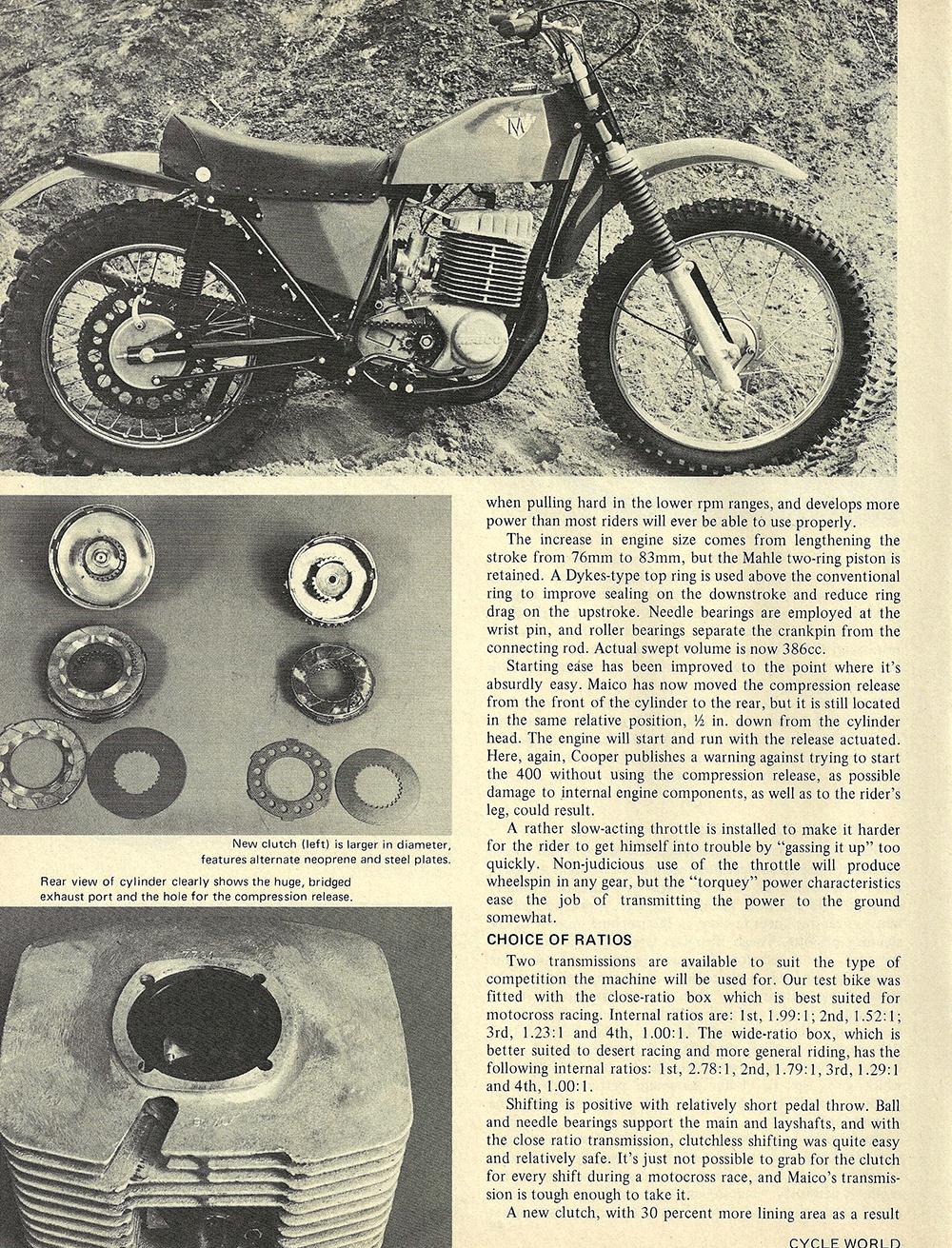 1971 Maico 400 Motocross road test 03.jpg