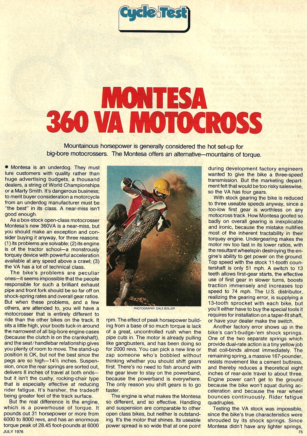1976 Montesa 360 VA road test 2.jpg