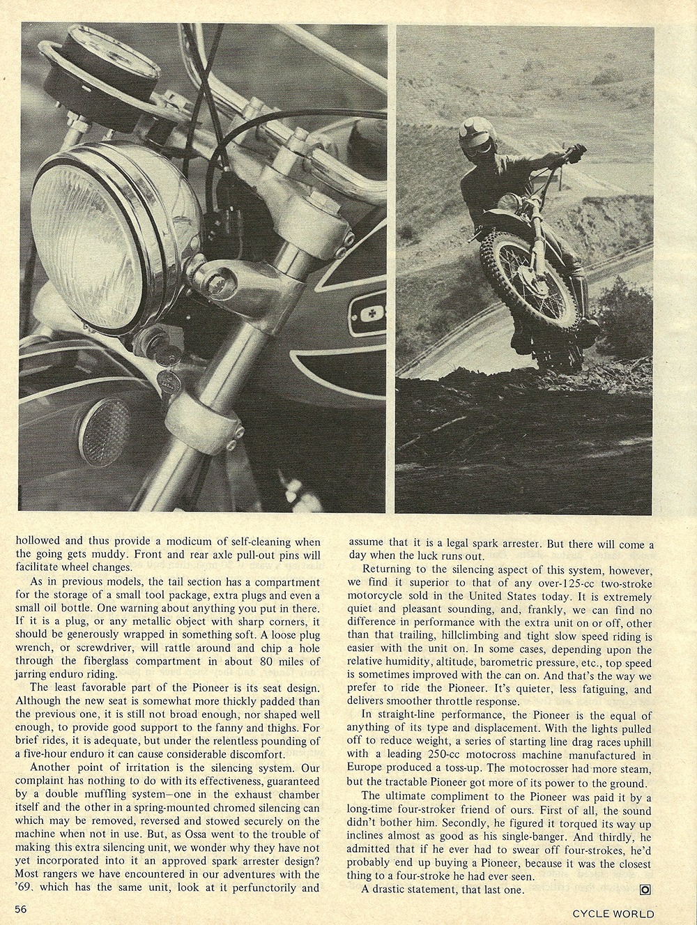 1971 Ossa Pioneer 250 road test 04.jpg