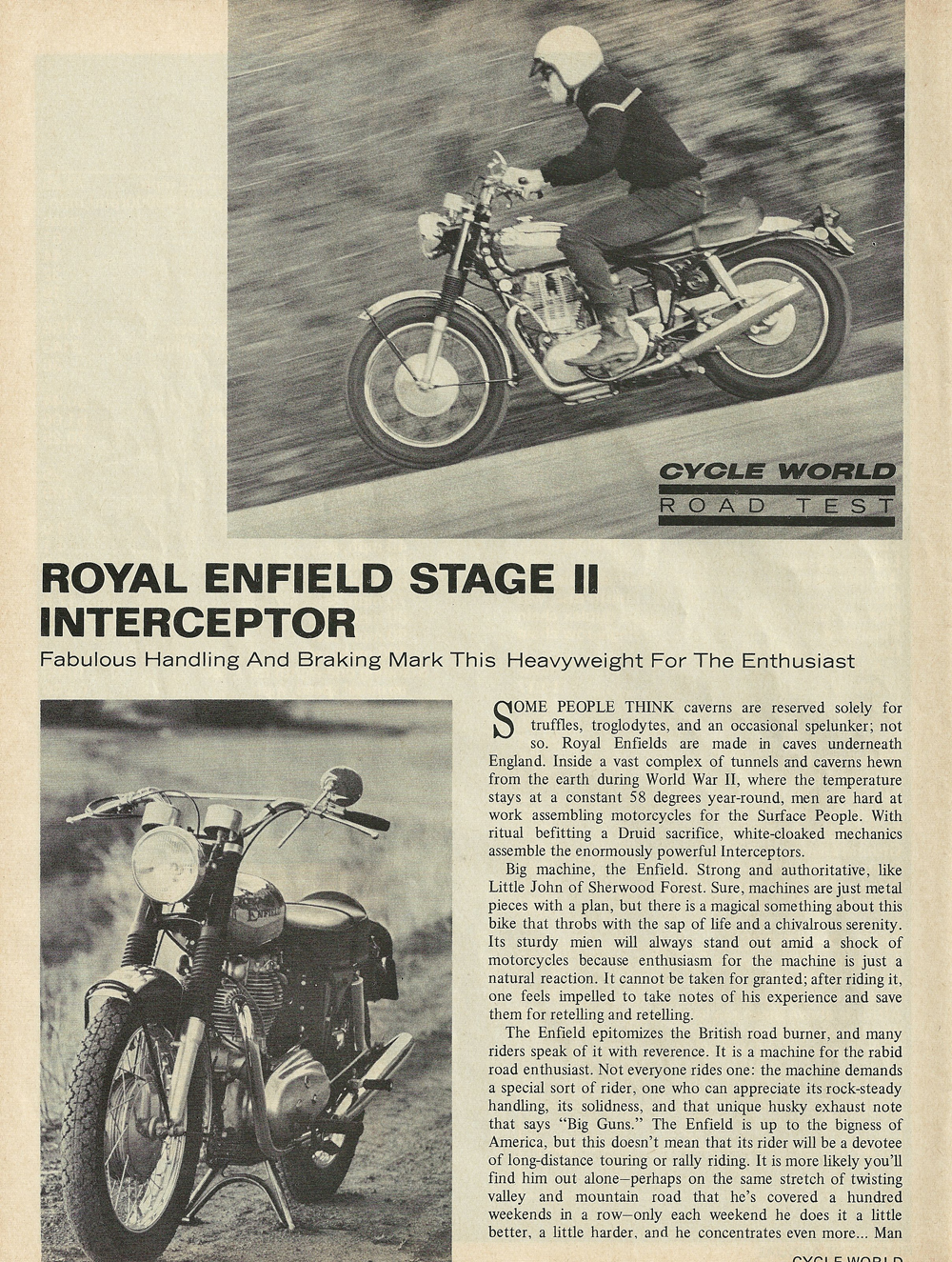 1969 Royal Enfield Stage 2 Interceptor road test 1.jpg