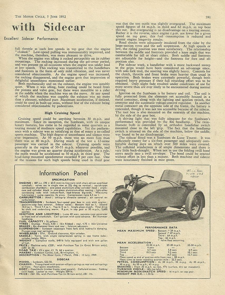 1952 Sunbeam 487cc S7 road test 2.JPG