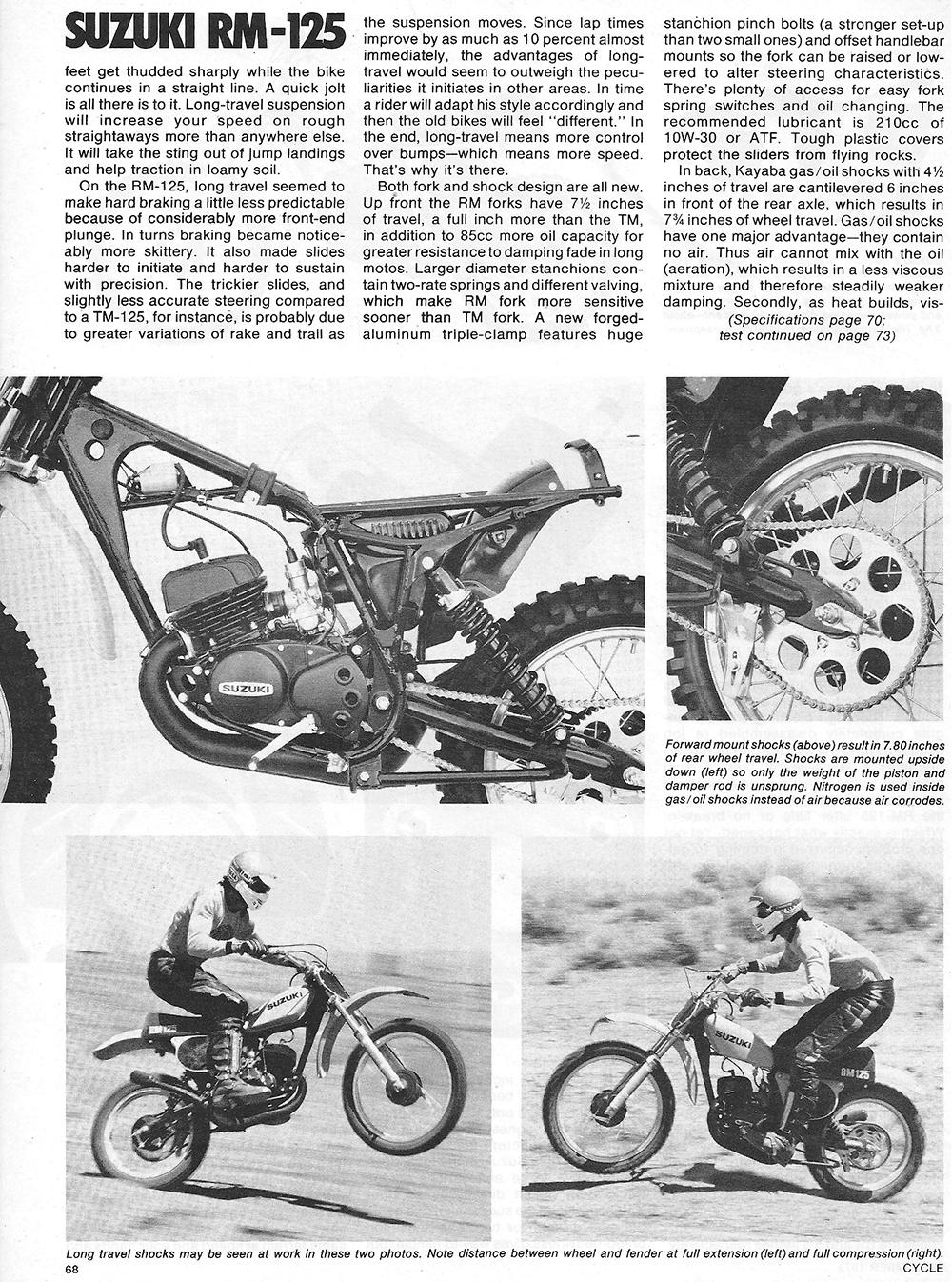 1975 Suzuki RM 125 road test 3.jpg