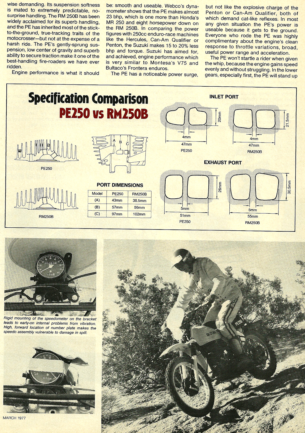 1977 Suzuki PE250 road test 4.jpg
