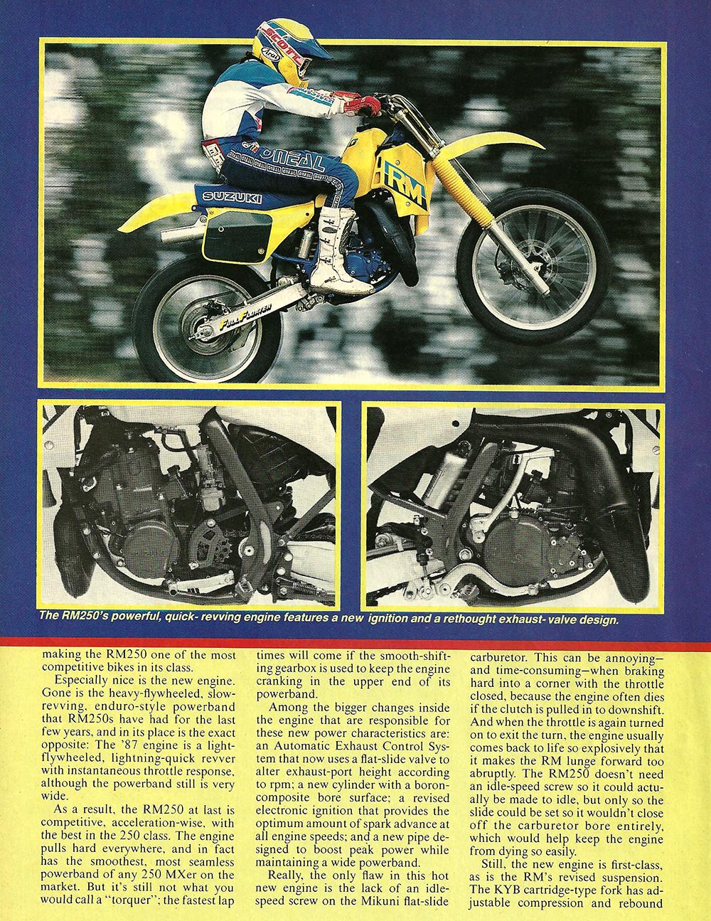 1987 Suzuki RM250 road test 03.jpg