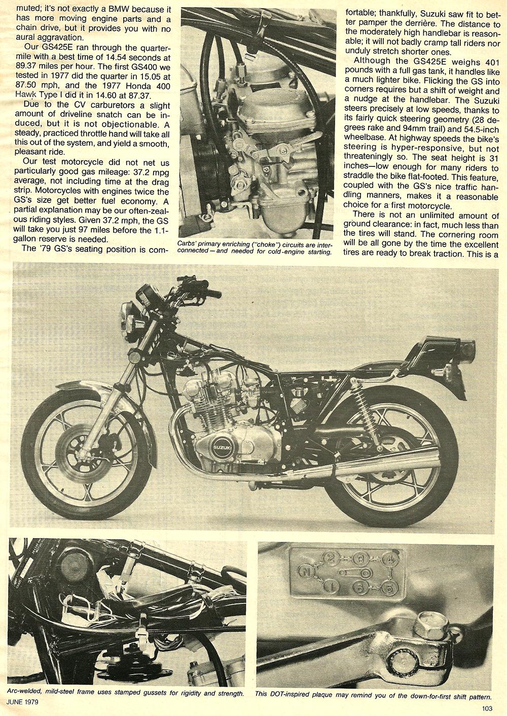 1979 Suzuki GS425E road test 06.jpg
