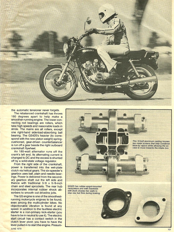 1979 Suzuki GS425E road test 04.jpg