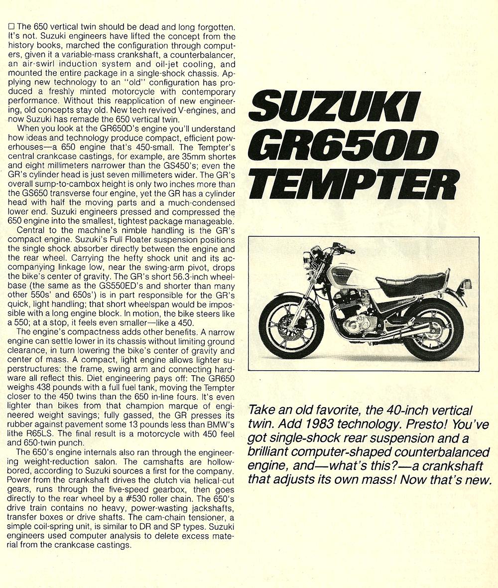 1983 Suzuki GR650D Tempter road test 2.jpg