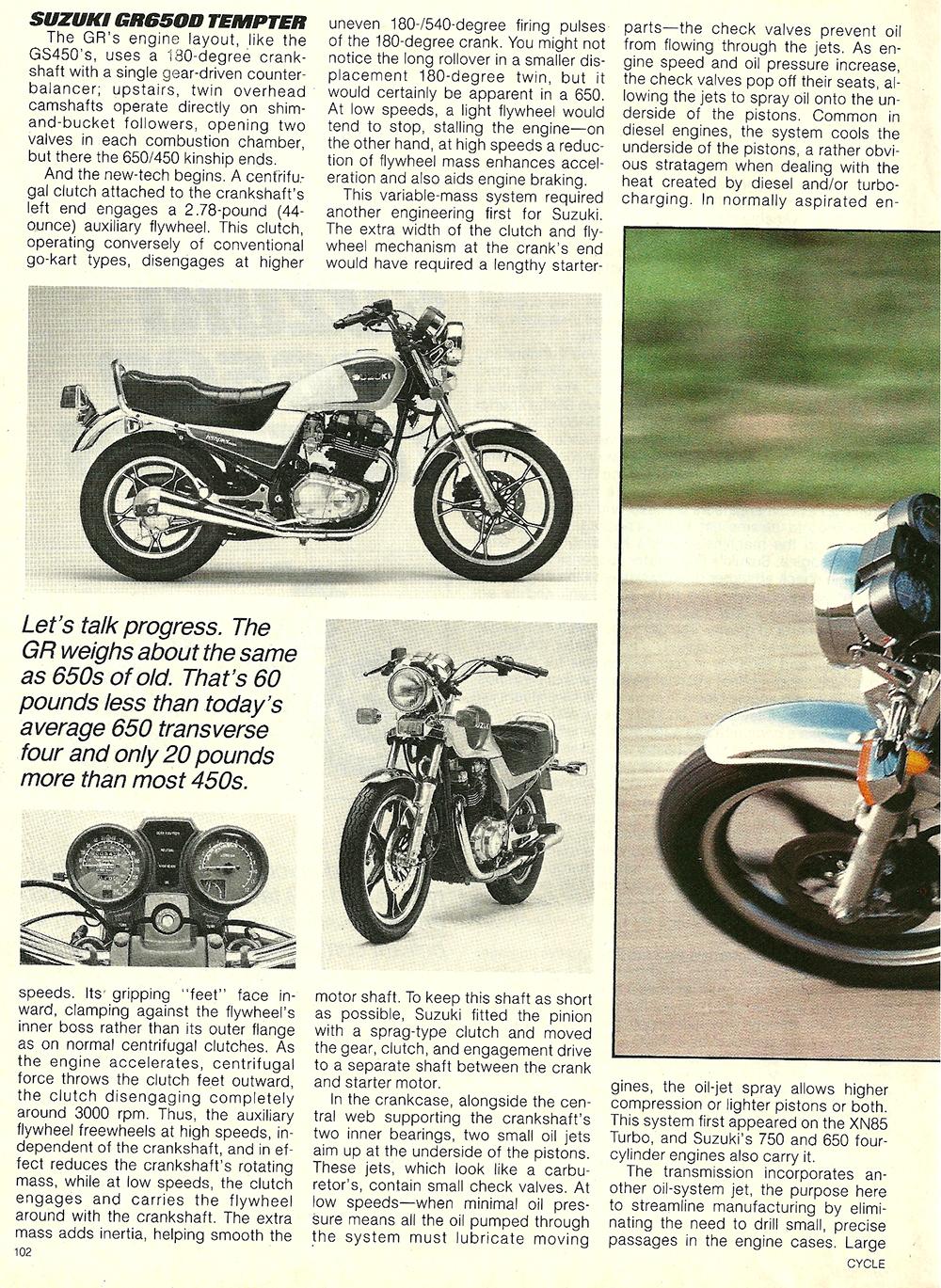 1983 Suzuki GR650D Tempter road test 3.jpg