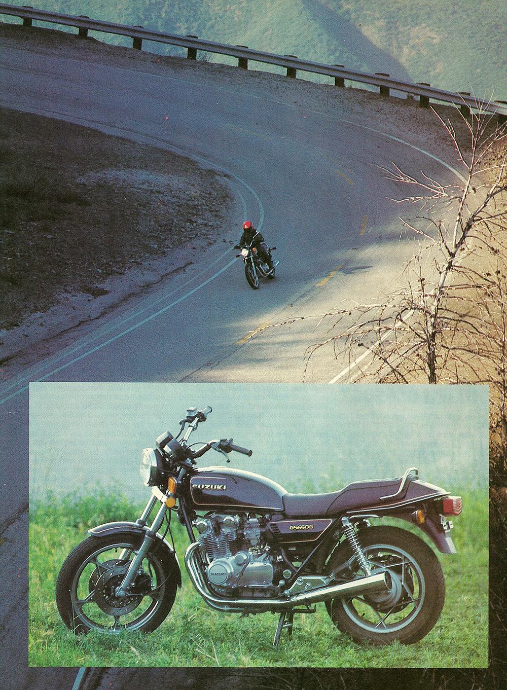 1981 Suzuki GS650 GX road test 02.jpg