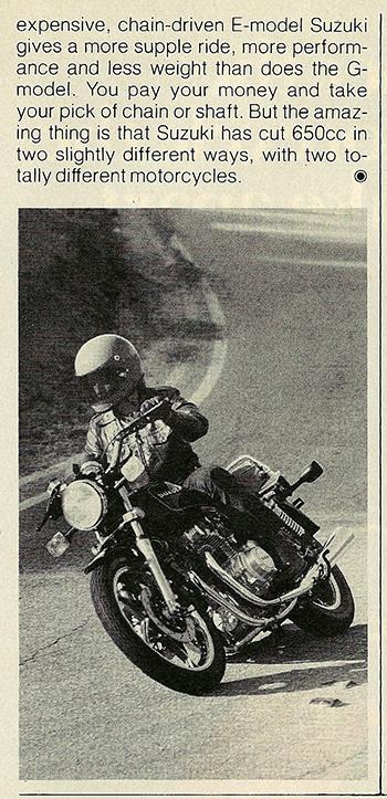 1981 Suzuki GS650 GX road test 07.jpg