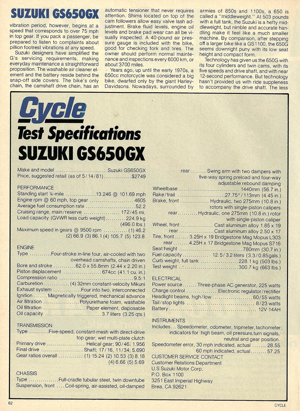 1981 Suzuki GS650 GX road test 06.jpg