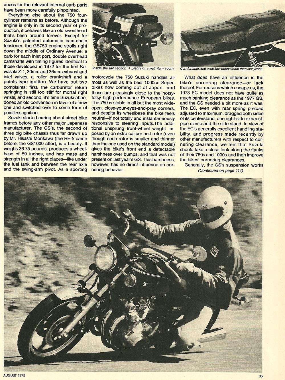 1978 Suzuki GS750ec road test 04.jpg