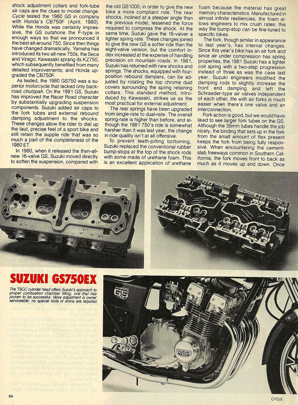 1981 Suzuki GS750 EX road test 03.jpg