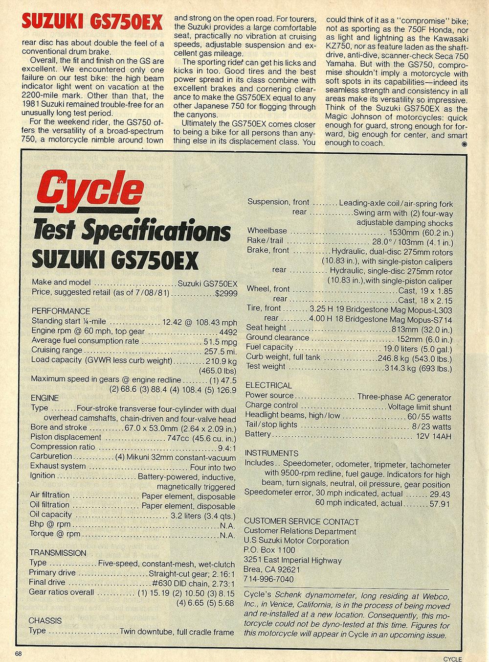 1981 Suzuki GS750 EX road test 06.jpg