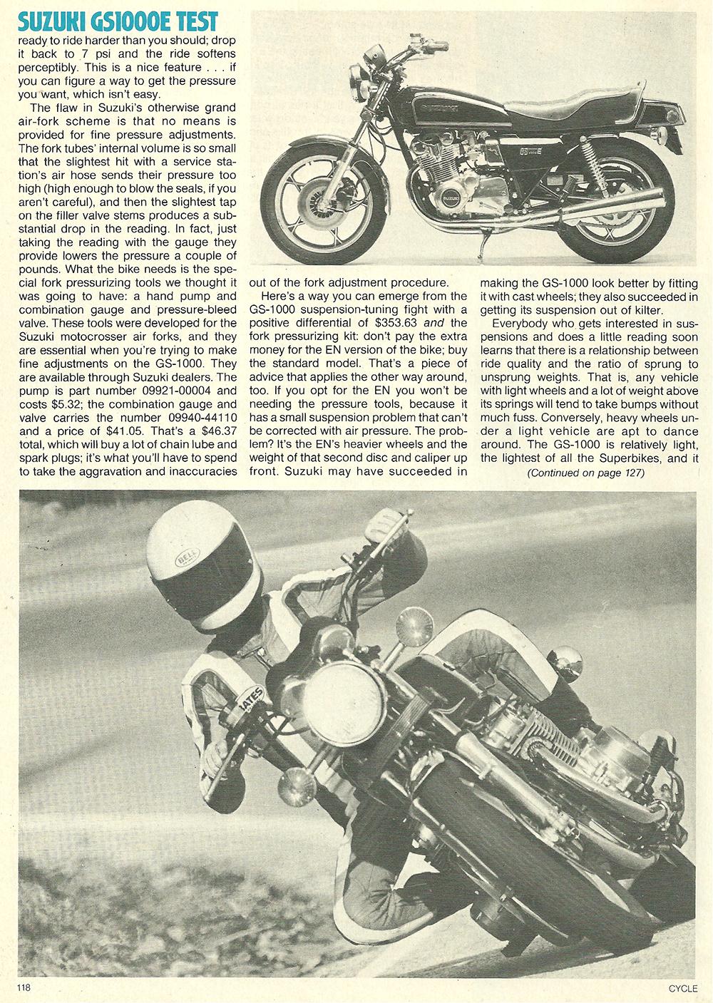 1979 Suzuki GS1000E road test 07.jpg