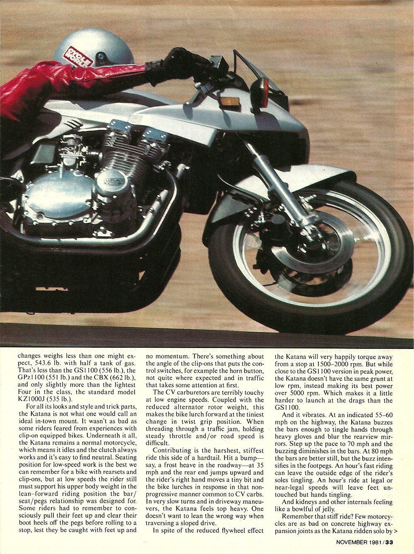 1981 Suzuki GS1000S Katana road test 4.jpg