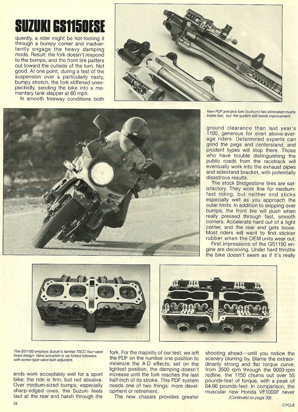 1984 Suzuki GS1150ESE road test 7.jpg