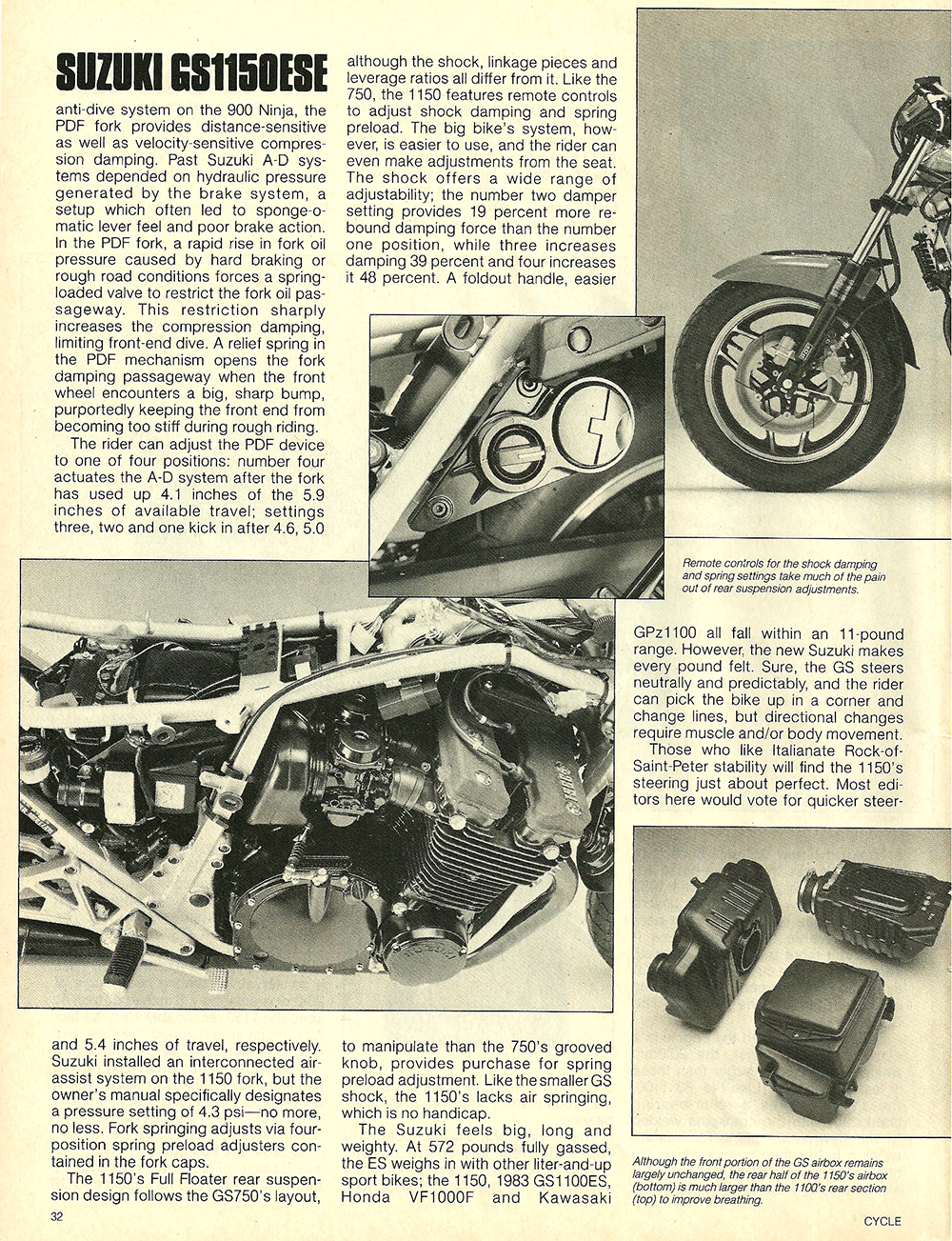 1984 Suzuki GS1150ESE road test 5.jpg