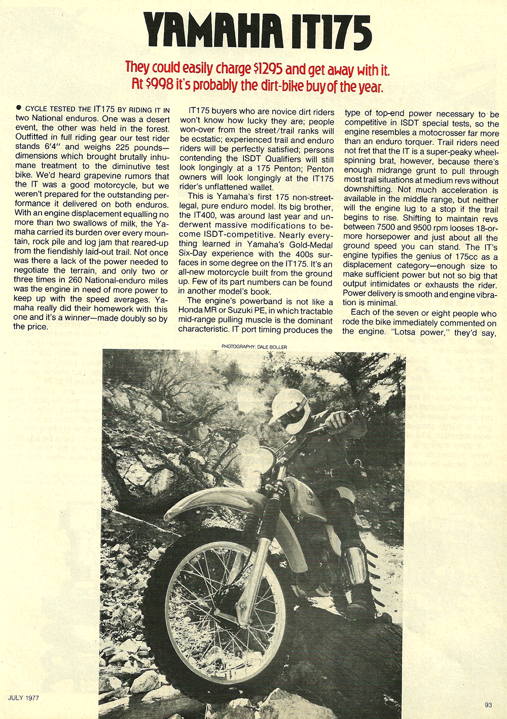 1977 Yamaha IT175 road test 2.jpg