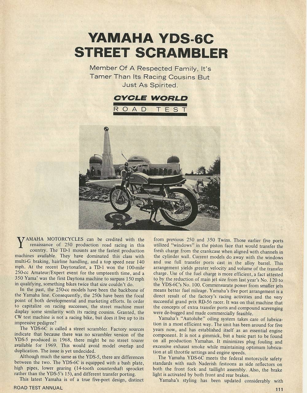 1969 Yamaha YDS-6C Street Scrambler road test 2.jpg