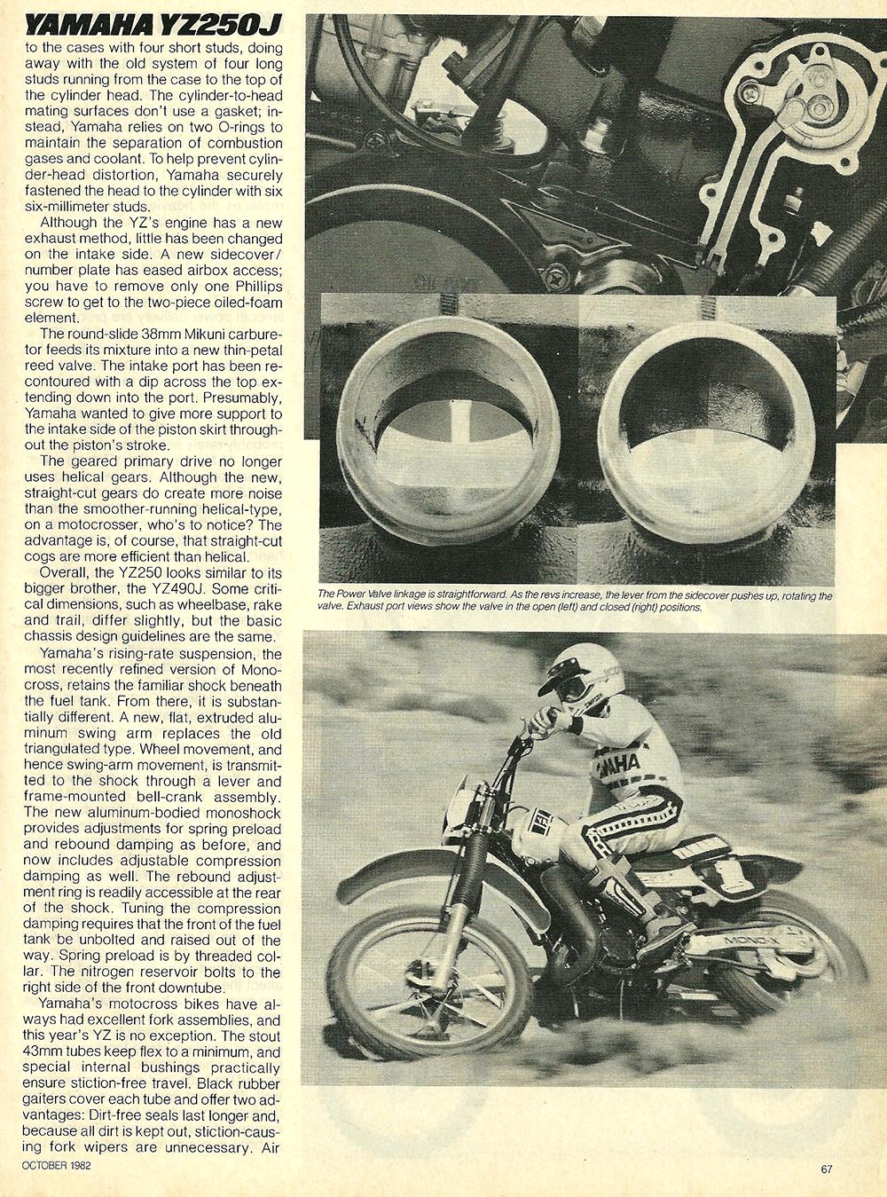 1982 Yamaha YZ250J road test 5.jpg