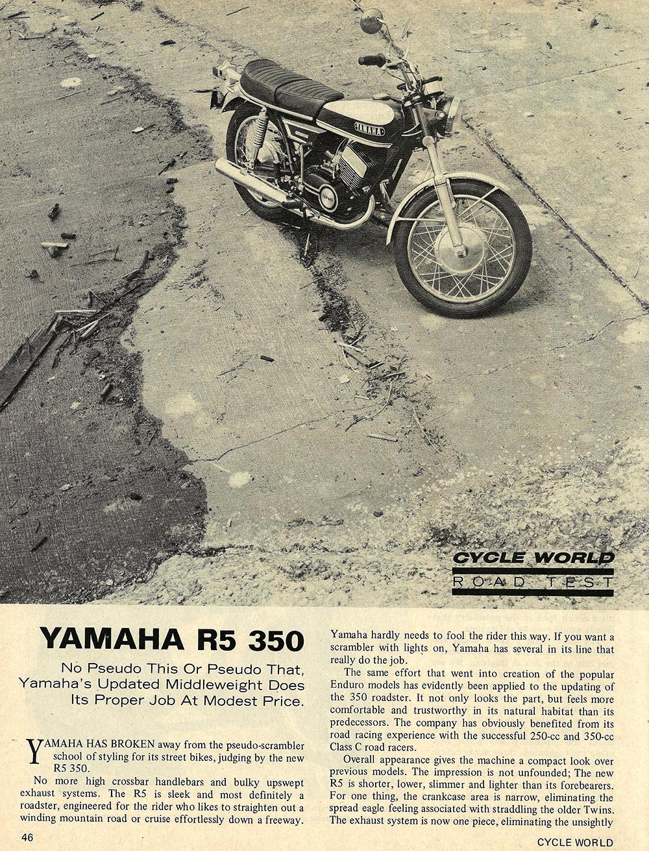 1970 Yamaha R5 350 road test 01.jpg