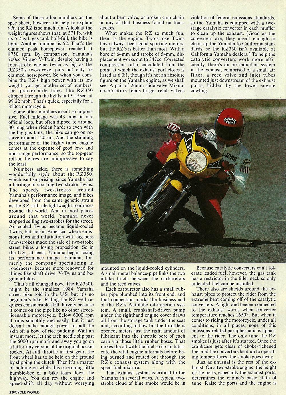 1984 Yamaha RZ350 road test 03.jpg