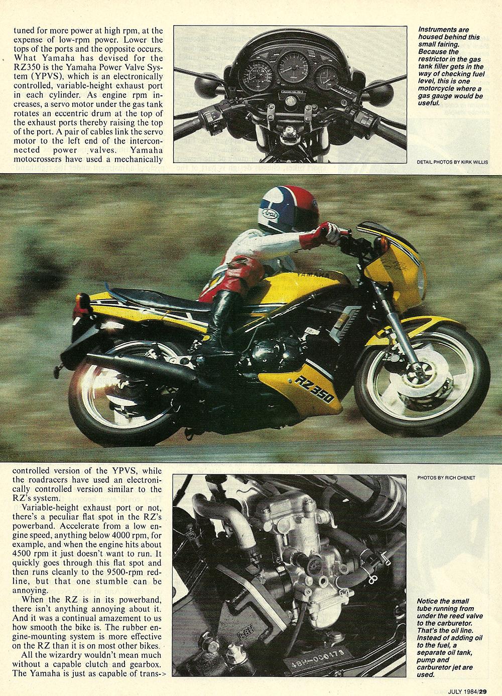 1984 Yamaha RZ350 road test 04.jpg