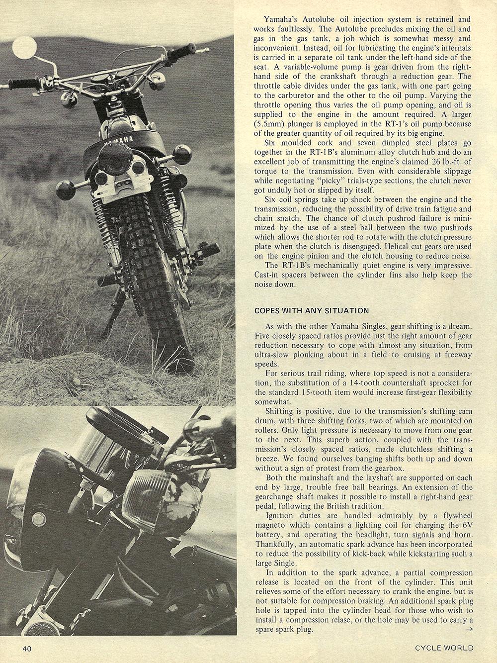 1971 Yamaha RT-1B road test 03.jpg