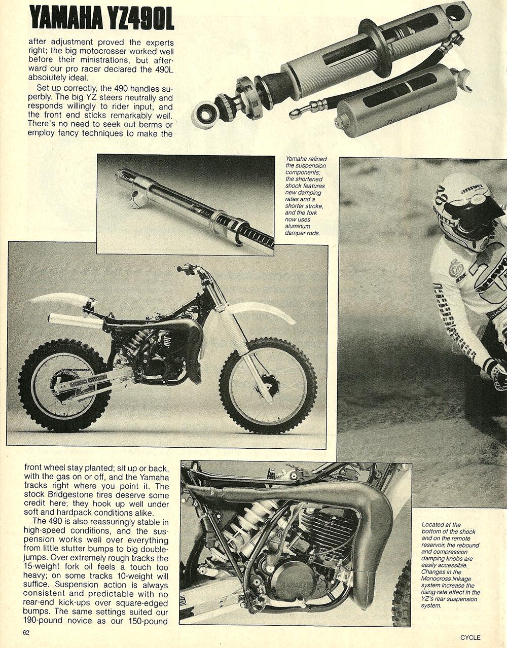 1984 Yamaha YZ490L off road test 5.jpg