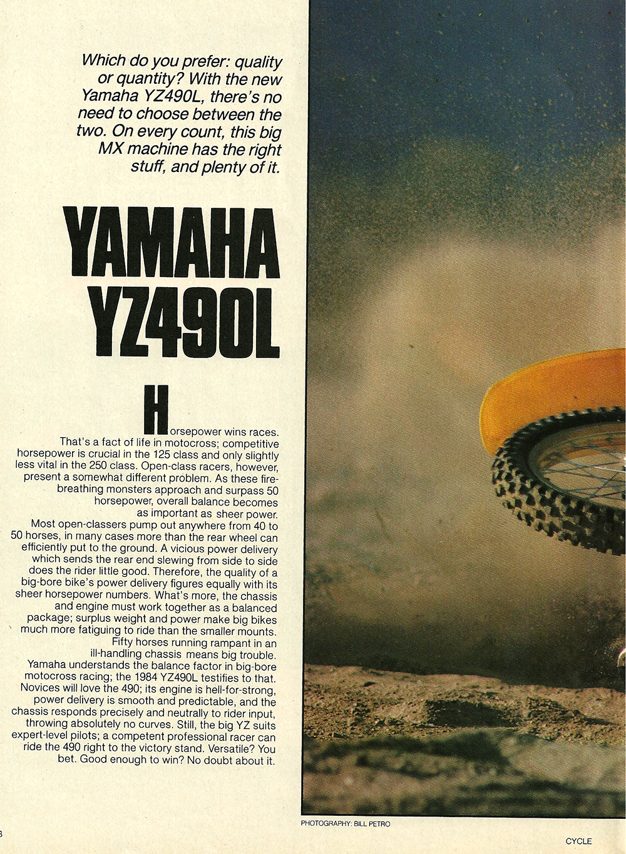 1984 Yamaha YZ490L off road test 1.jpg