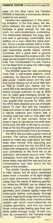 1978 Yamaha SR500E road test 6.jpg