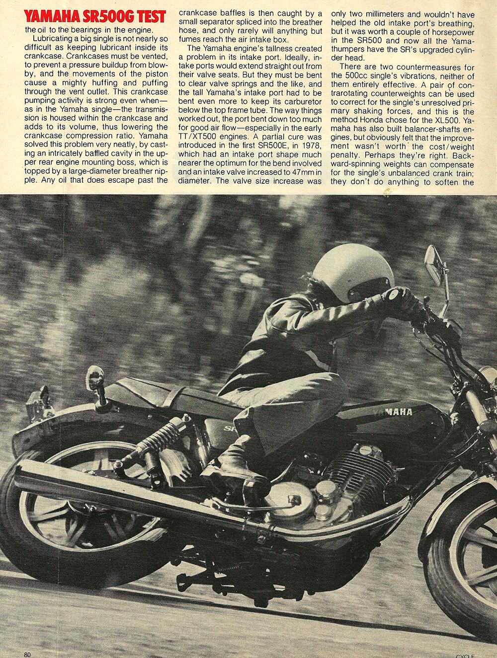 1980 Yamaha SR500 G road test 03.jpg