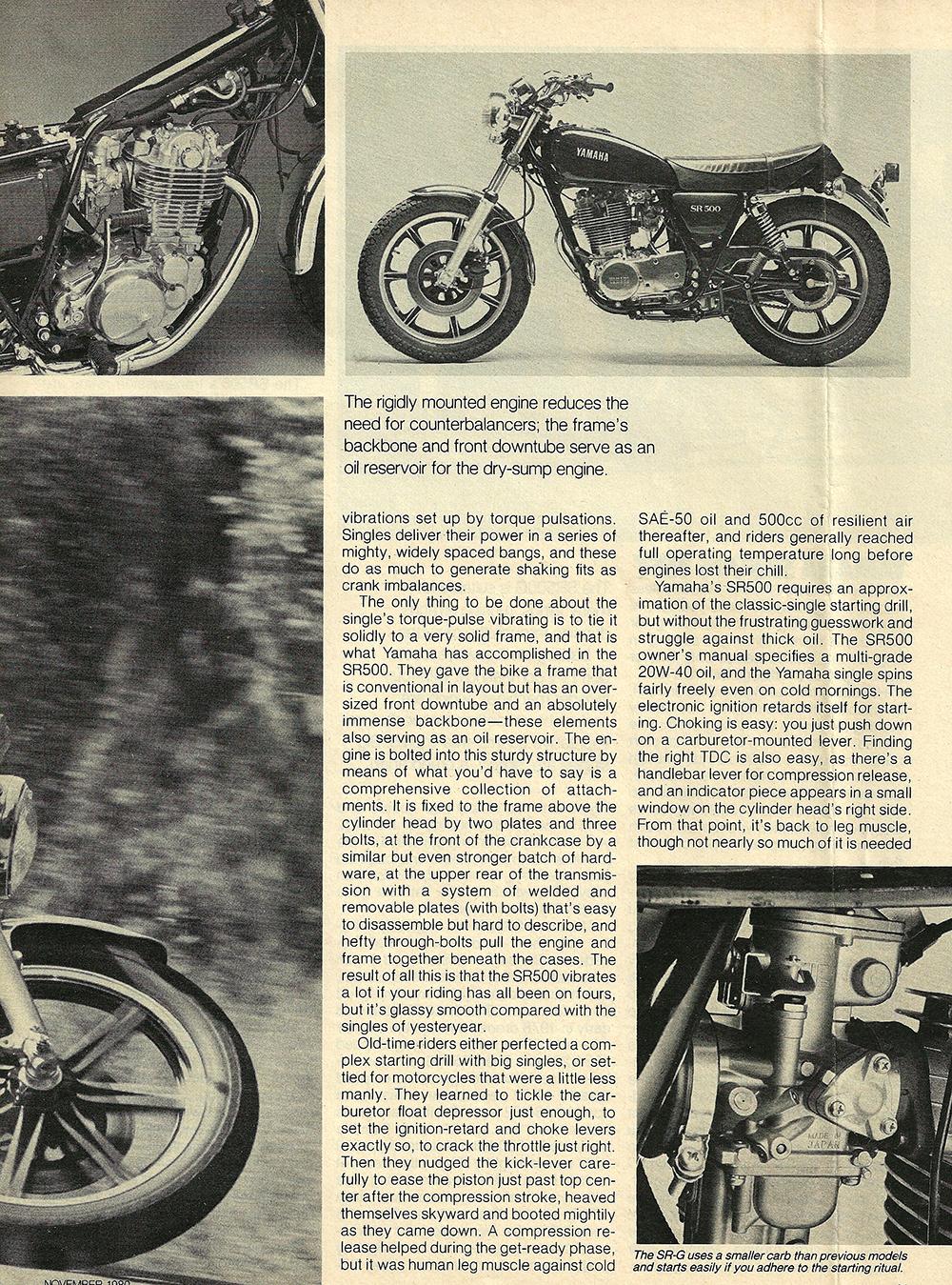 1980 Yamaha SR500 G road test 04.jpg