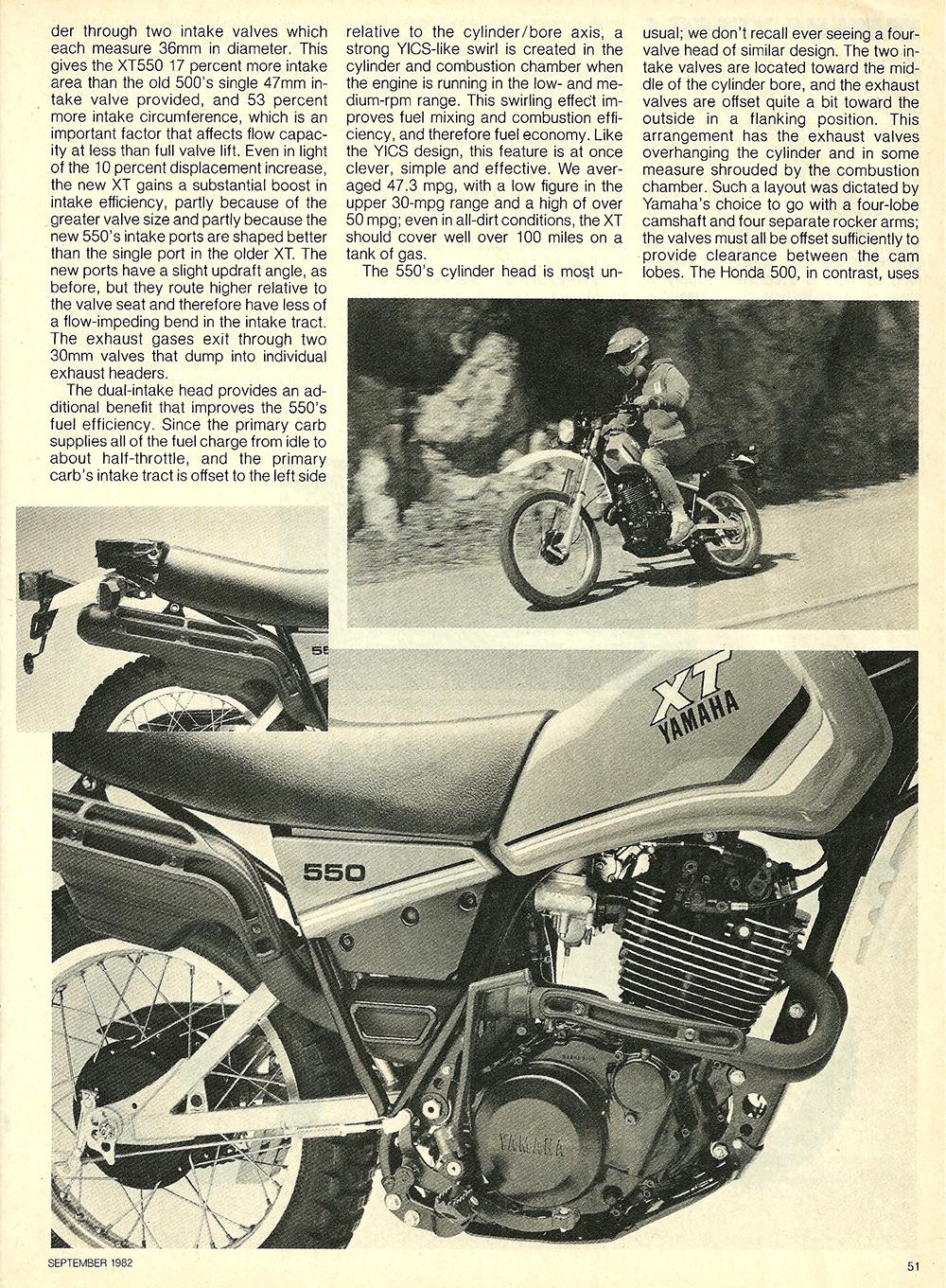 1982 Yamaha XT550J road test — Ye Olde Cycle Shoppe