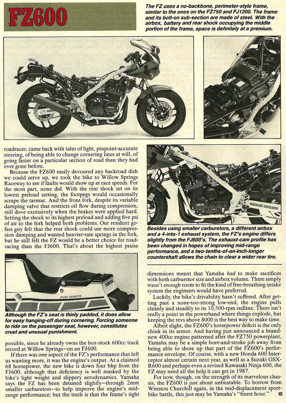 1986 Yamaha FZ600 road test 05.jpg