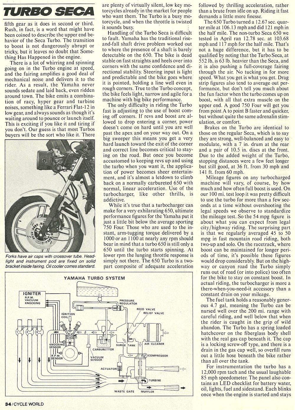 1982 Yamaha Turbo Seca 650 road test 07.jpg