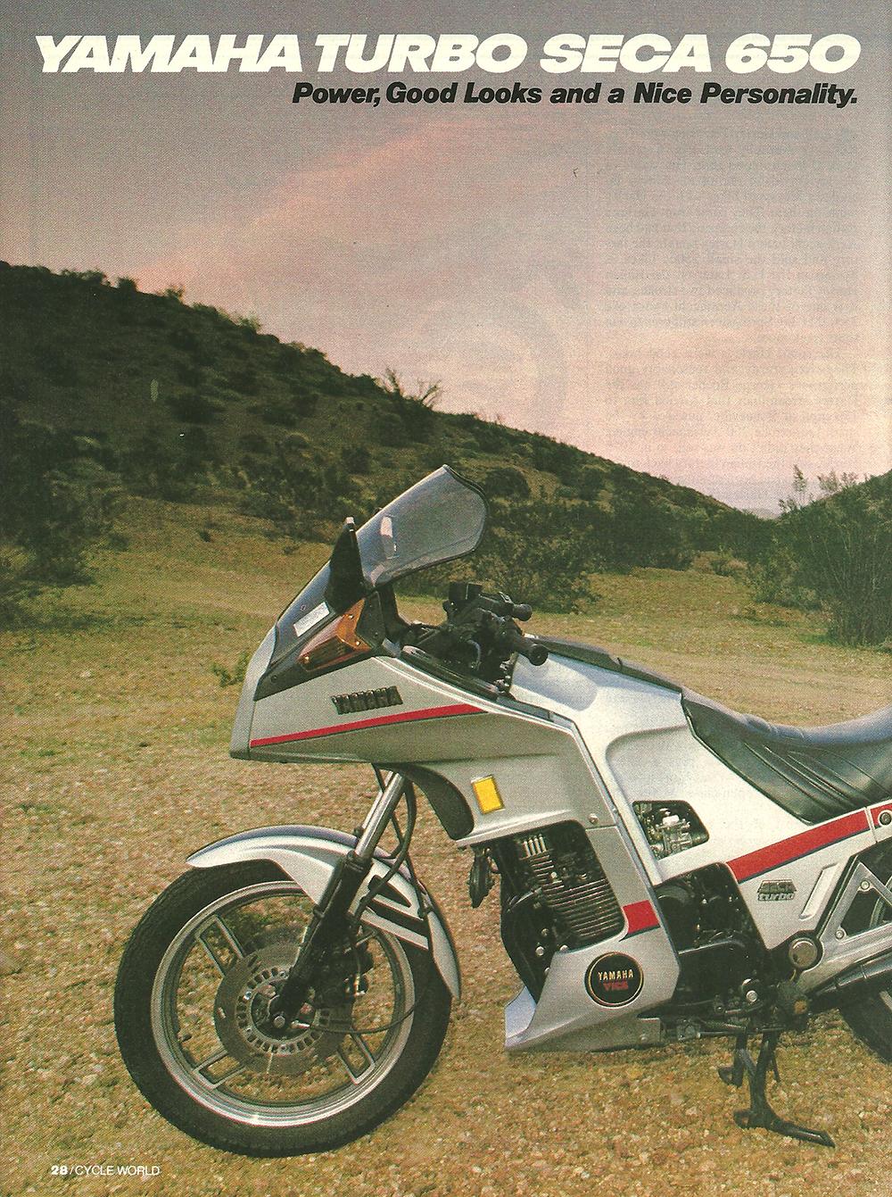 1982 Yamaha Turbo Seca 650 road test 01.jpg